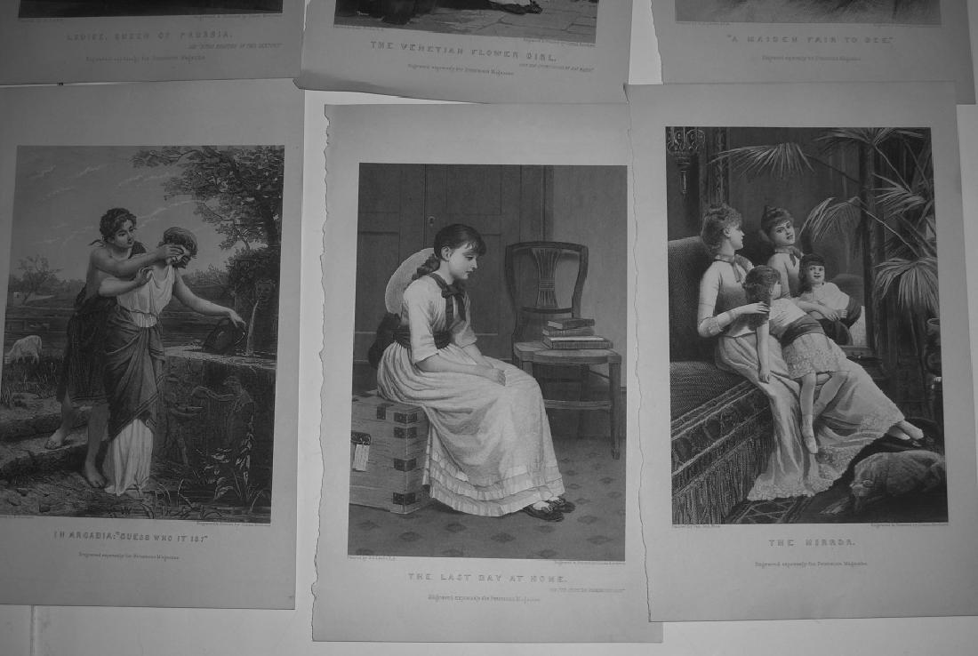 25 antique engravings/etchings - 7