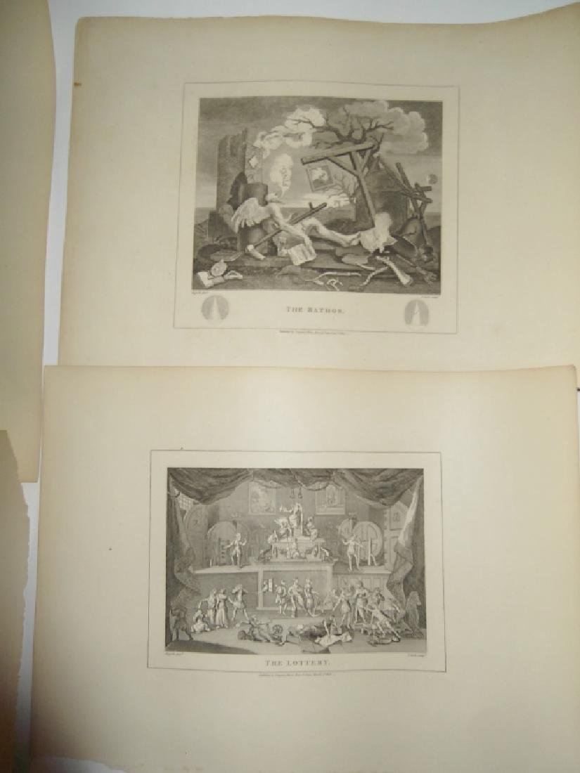 25 antique engravings/etchings - 12