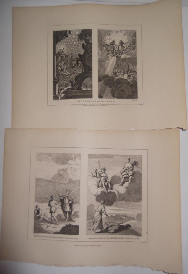 25 antique engravings/etchings - 13