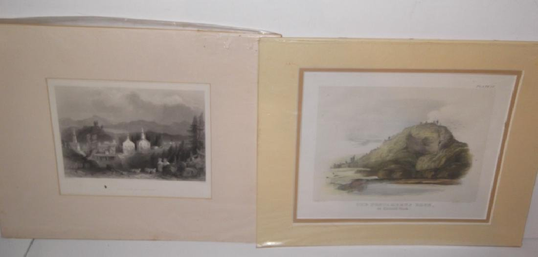 25 antique engravings/etchings - 9