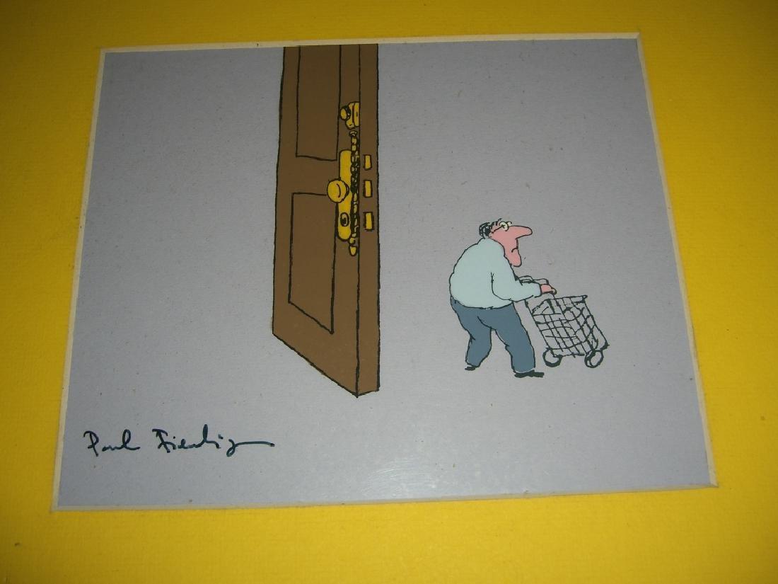 9 cartoon animation cells by Paul Fierlinger - 8