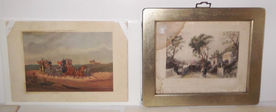14 20th c. etchings/engravings & prints - 4
