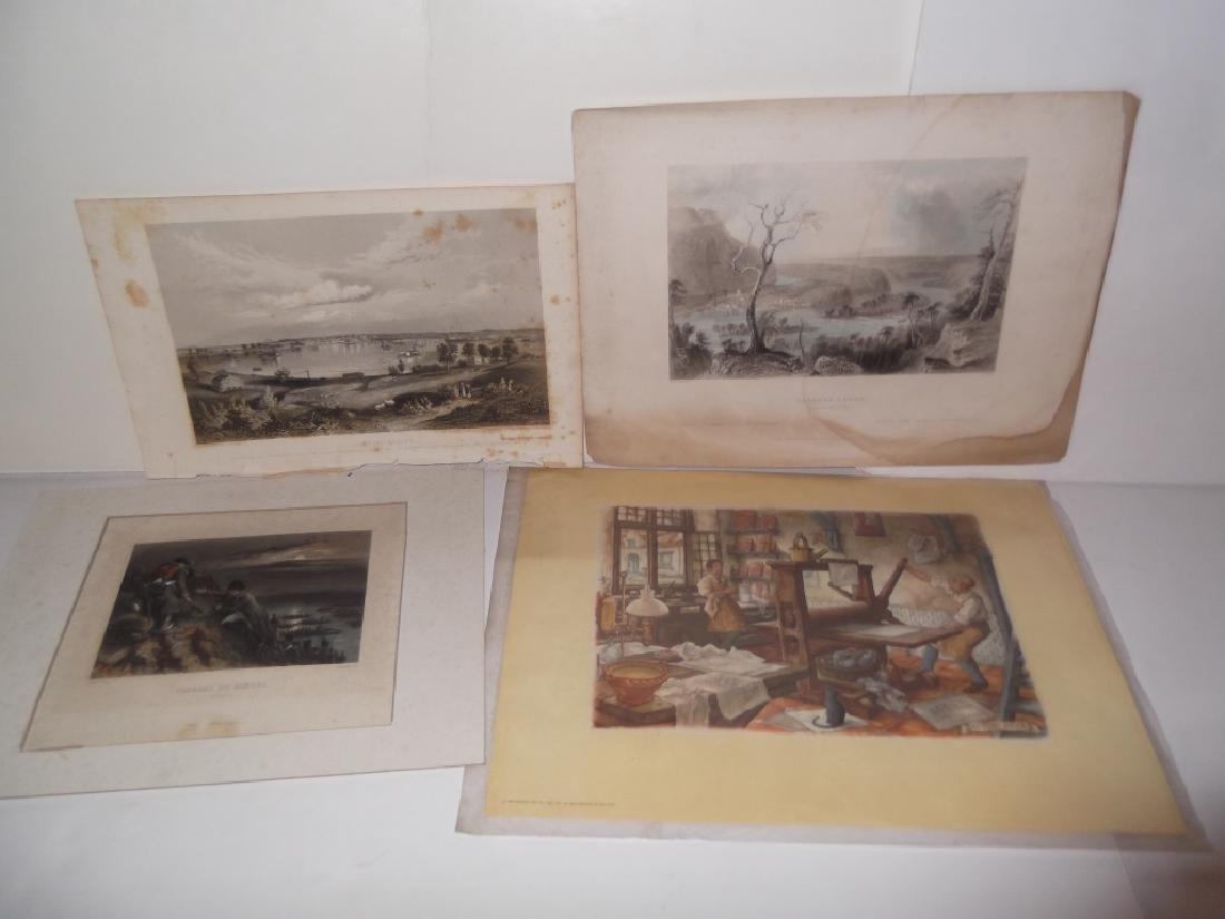 14 20th c. etchings/engravings & prints - 6