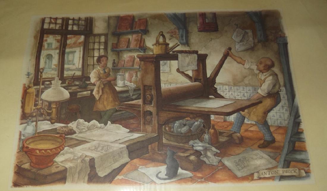 14 20th c. etchings/engravings & prints - 8
