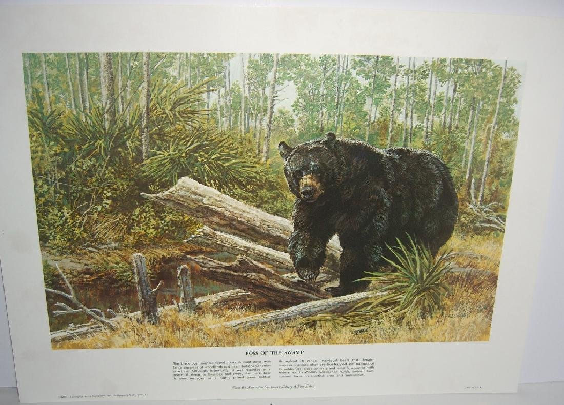 23 Remington Wildlife lithograph prints - 10