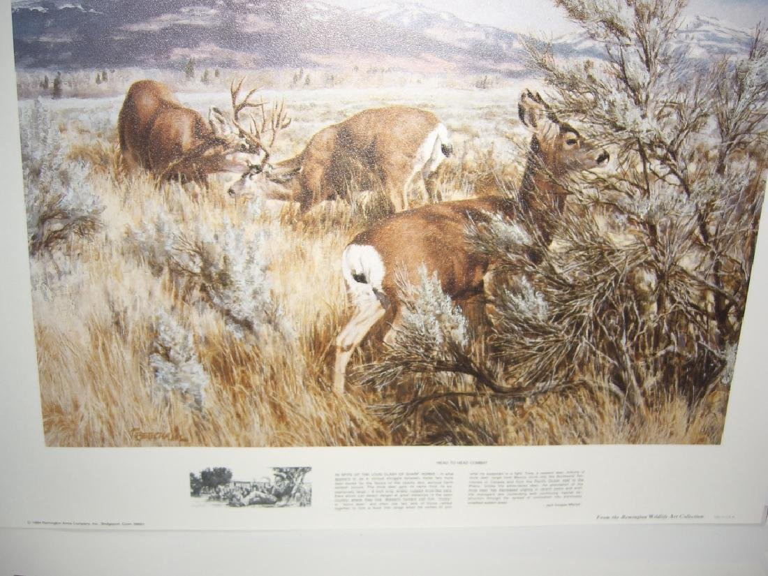 23 Remington Wildlife lithograph prints - 15