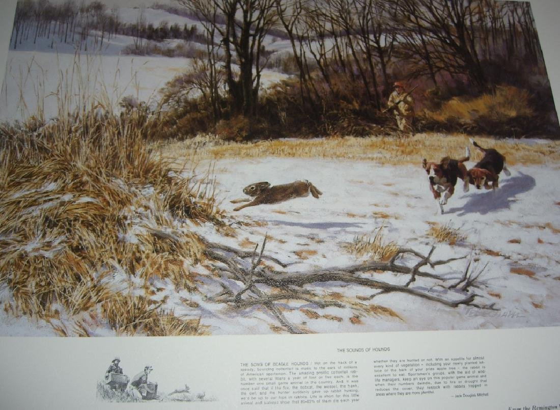 23 Remington Wildlife lithograph prints - 7