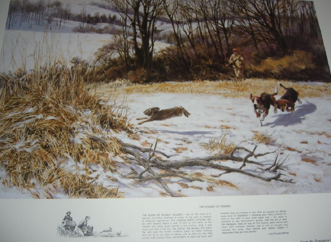 23 Remington Wildlife lithograph prints - 7