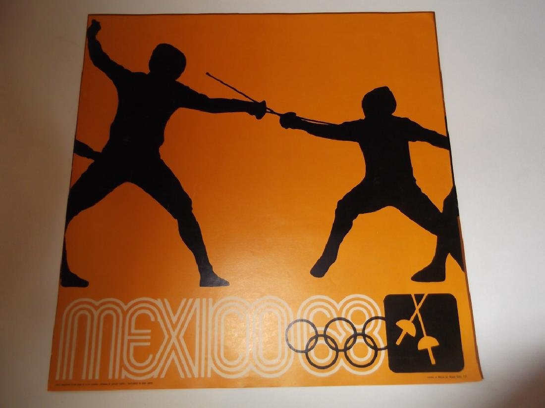 4 Mexico advertising posters - 2