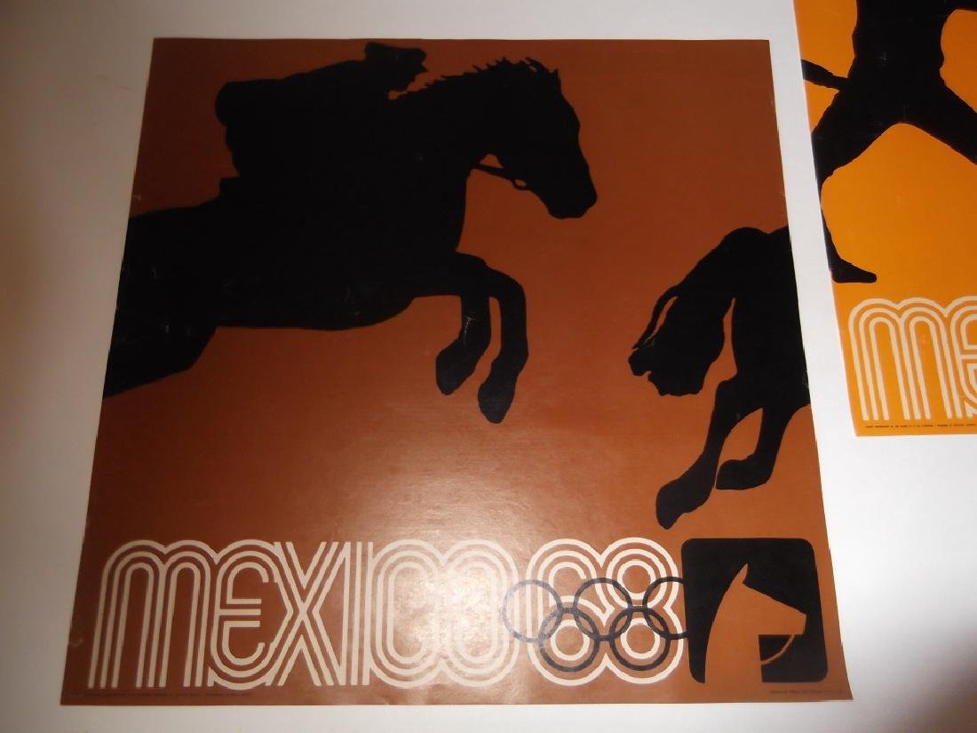 4 Mexico advertising posters - 3