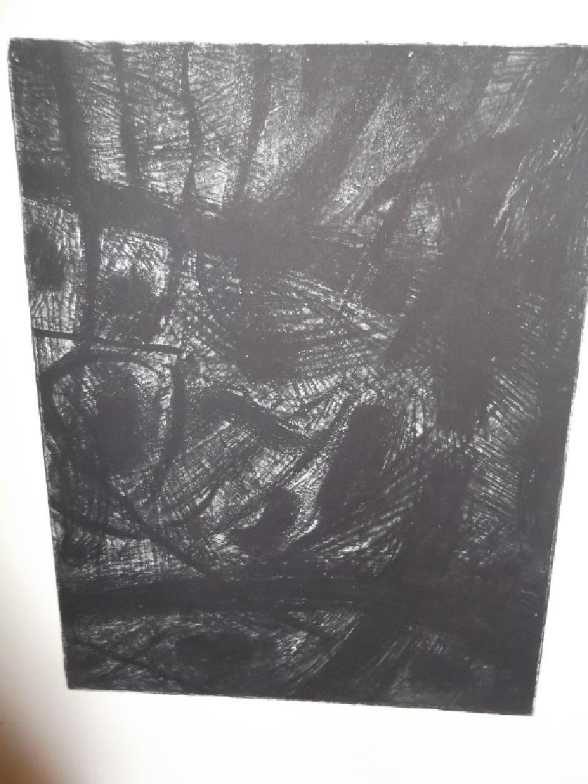 4 20th century abstract lithographs - 3