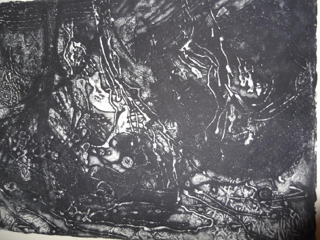 4 20th century abstract lithographs - 5