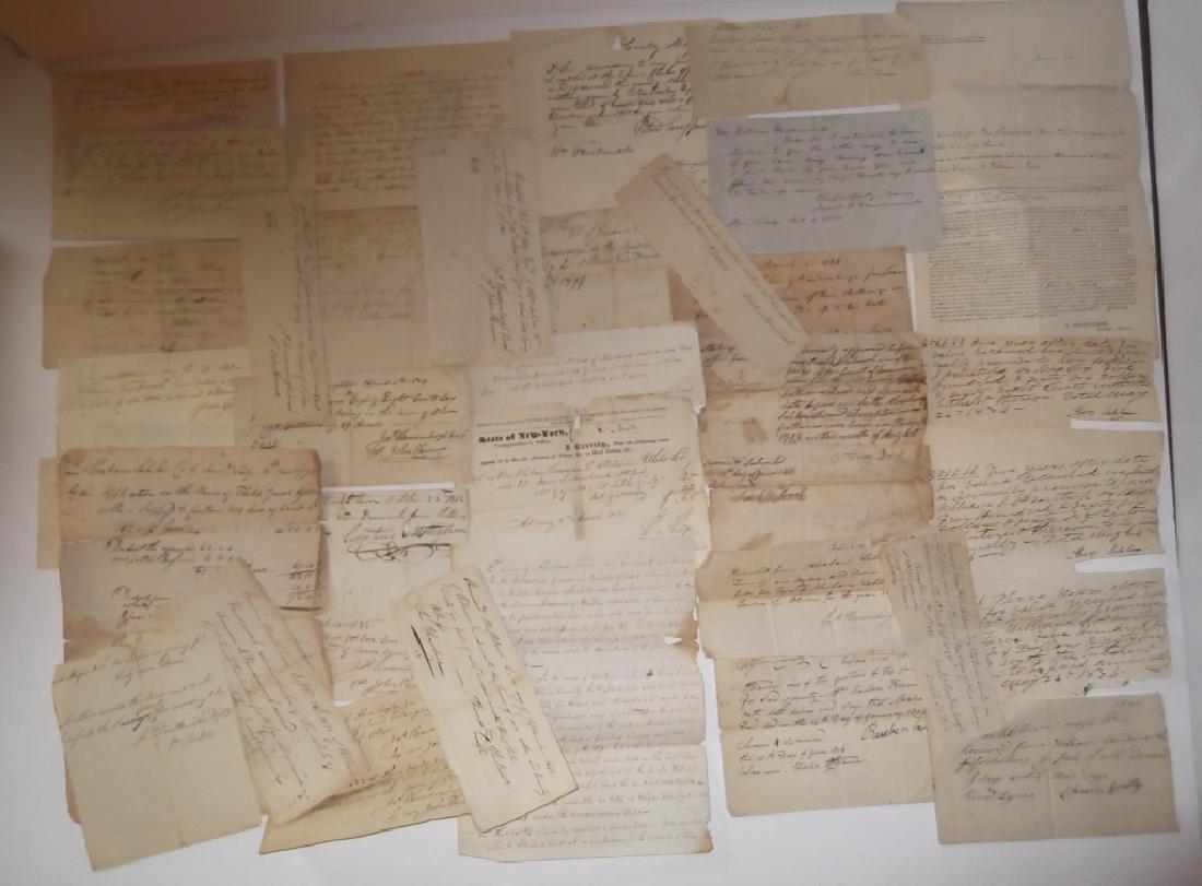 50 18th/19th century  Indentures, receipts