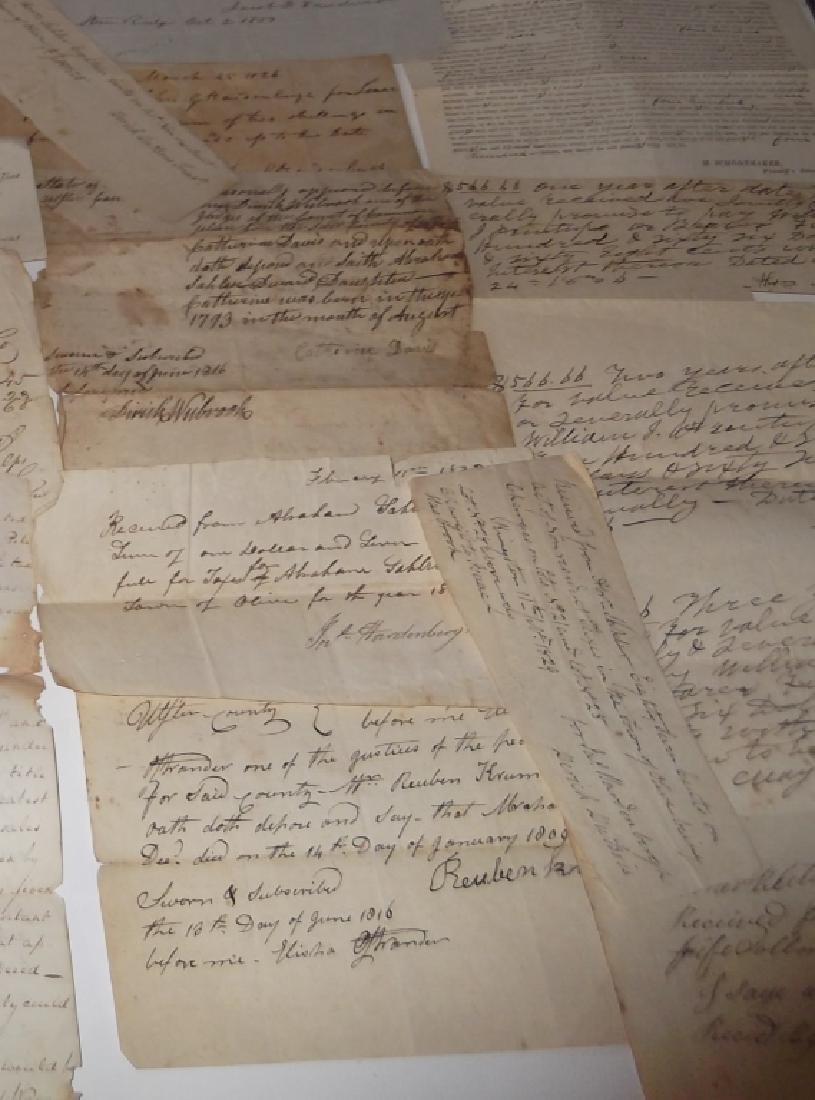50 18th/19th century  Indentures, receipts - 2