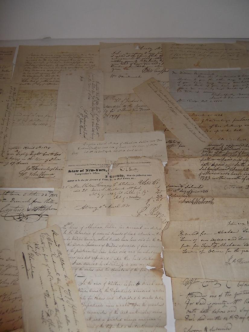 50 18th/19th century  Indentures, receipts - 4