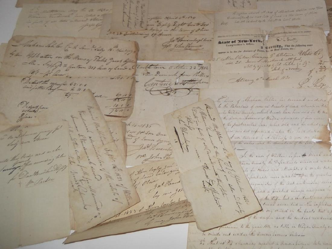 50 18th/19th century  Indentures, receipts - 6