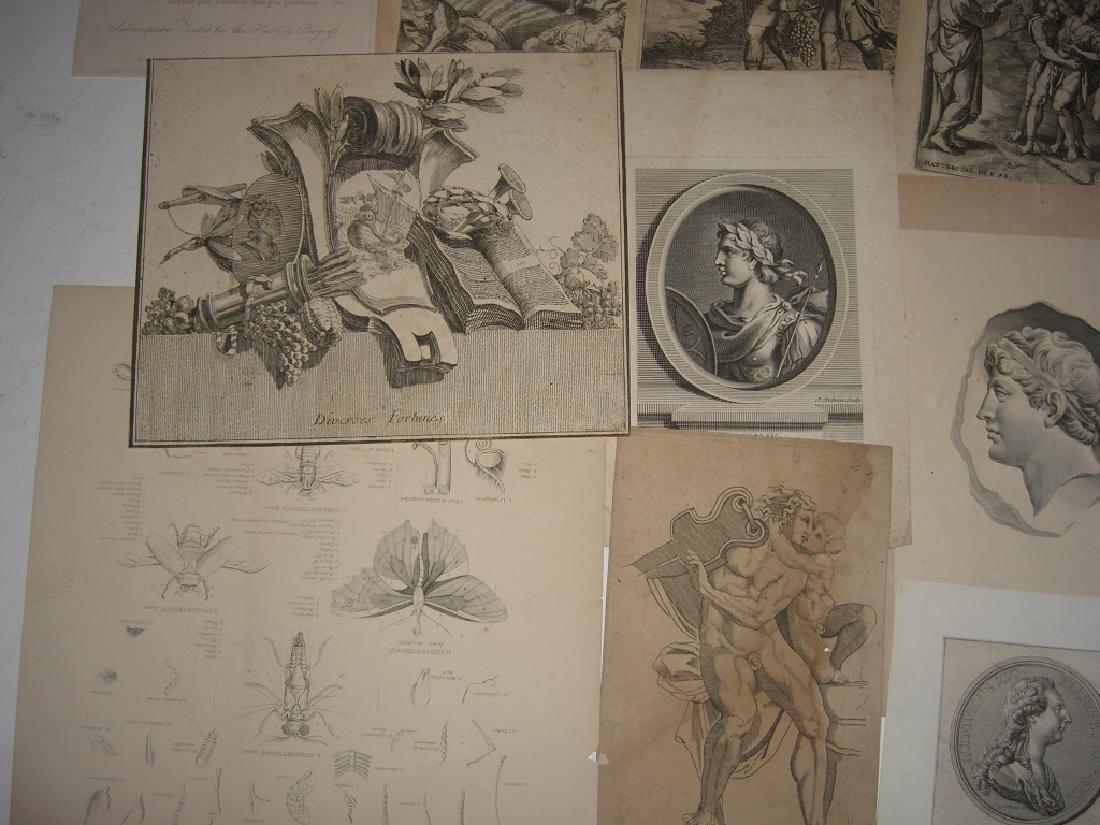 20 18th/19th century engravings/etchings - 3