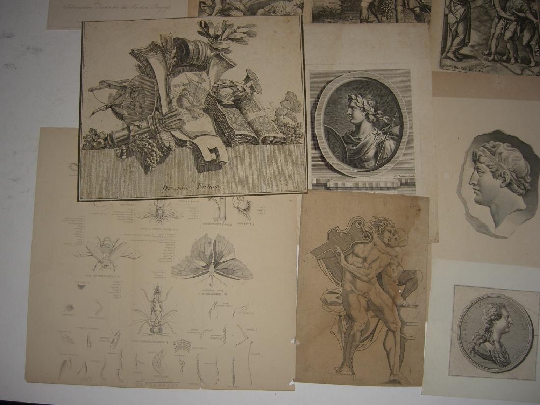 20 18th/19th century engravings/etchings - 5