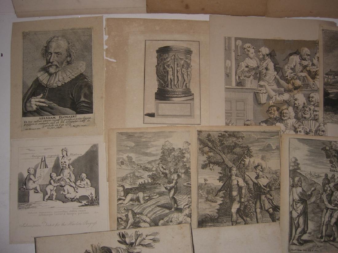 20 18th/19th century engravings/etchings - 6