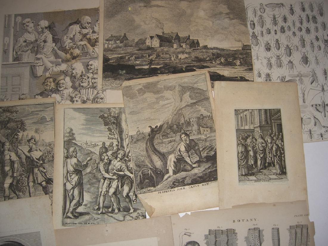 20 18th/19th century engravings/etchings - 7