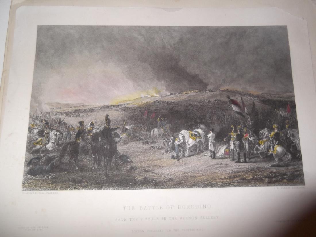 14 colored engravings/etchings - 6