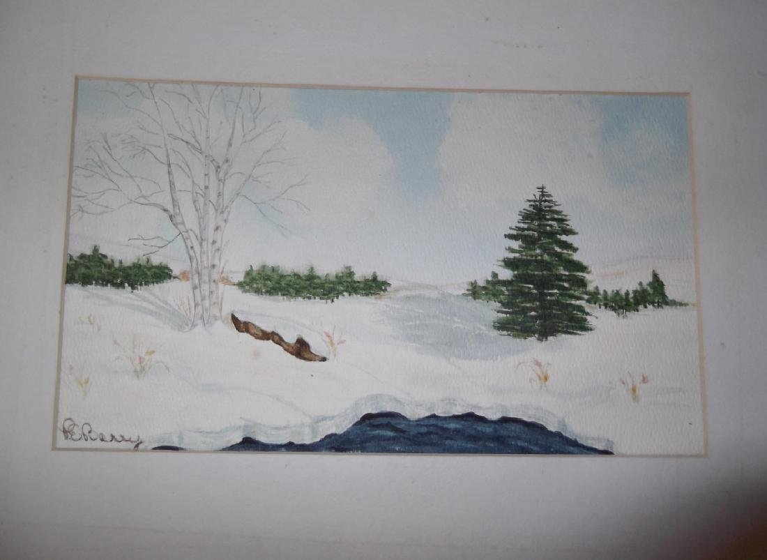 4 1960's/1970's  watercolor - 5