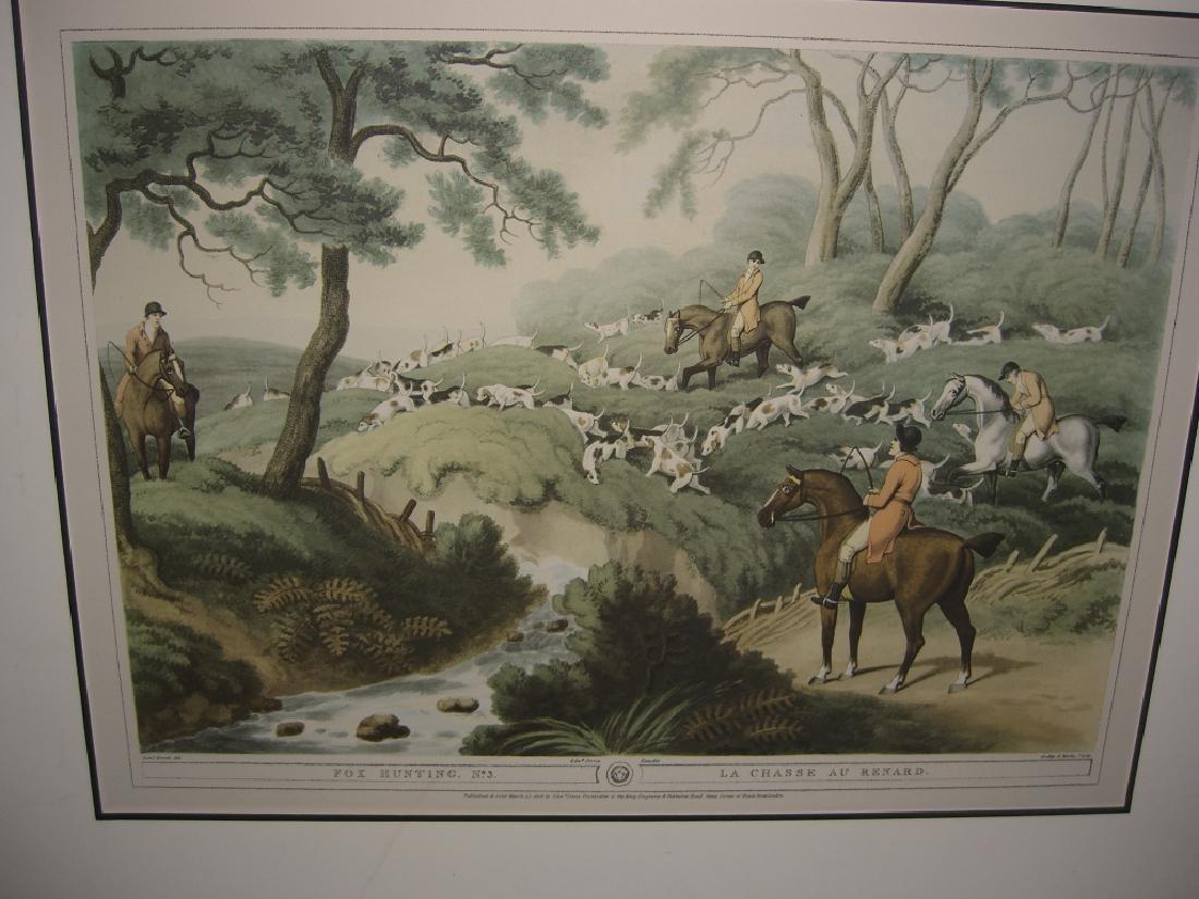 3 British field sports hunting prints - 3