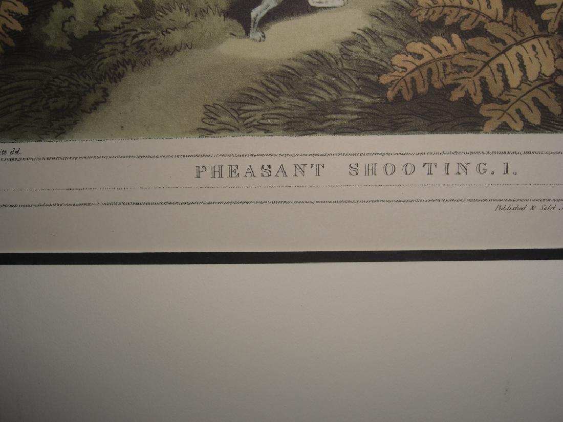 3 British field sports hunting prints - 8