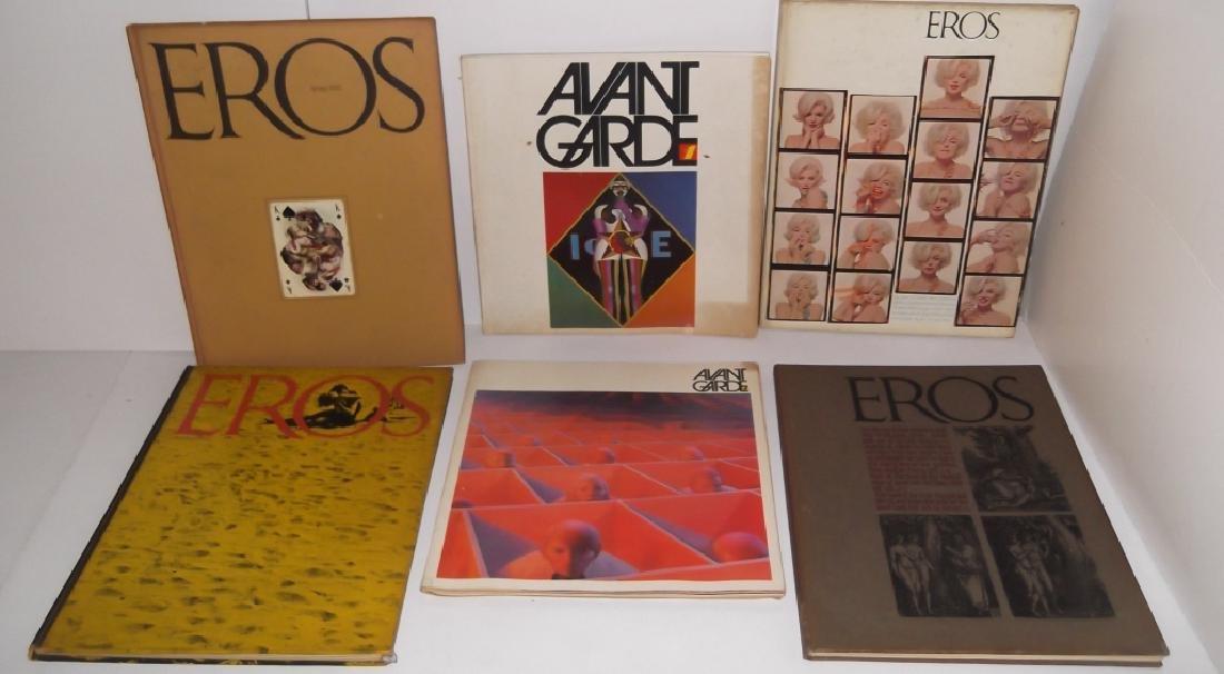 Eros books & Avand-Garde magazines