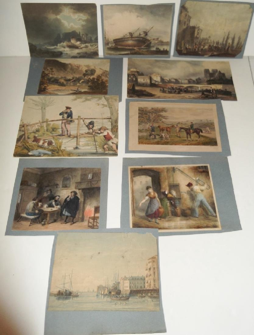 10 19th/20th century prints