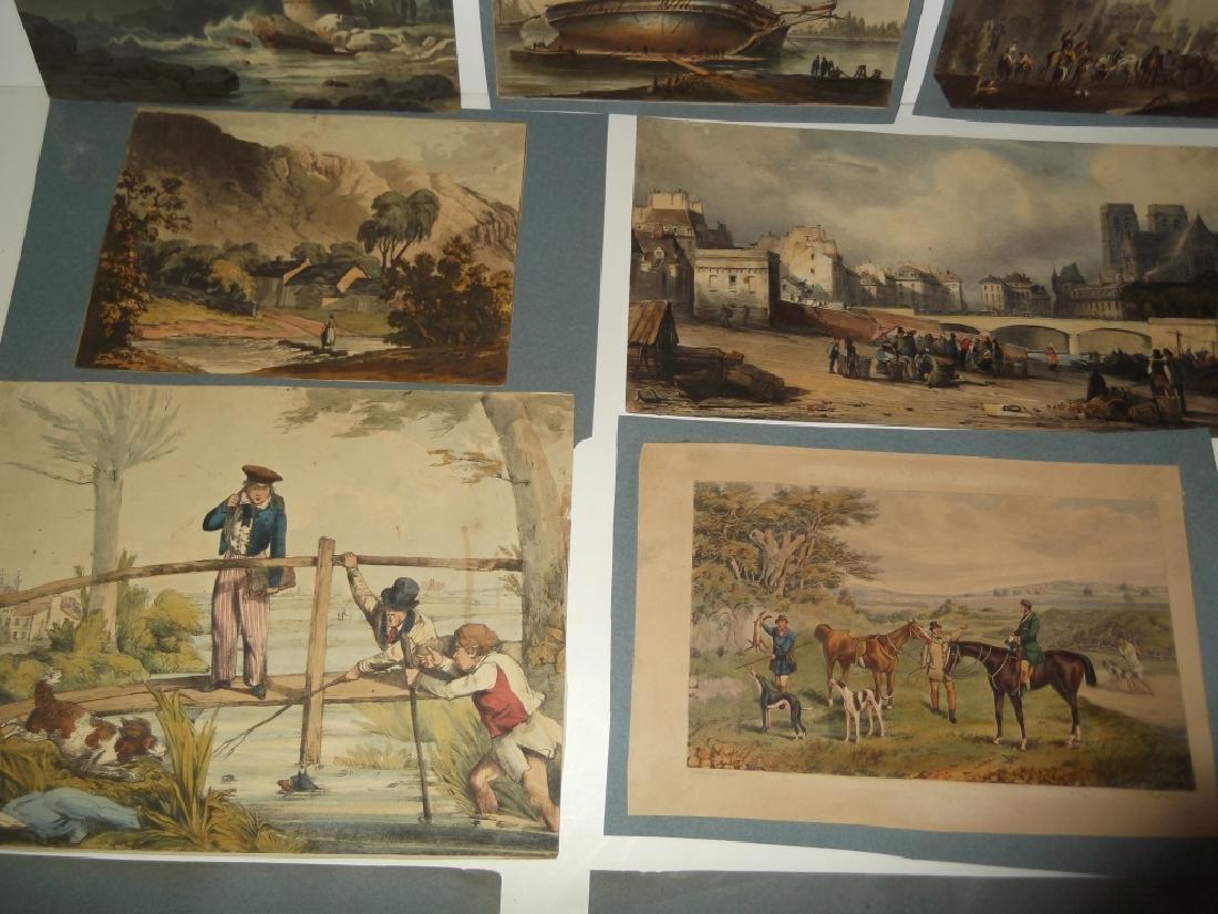 10 19th/20th century prints - 2