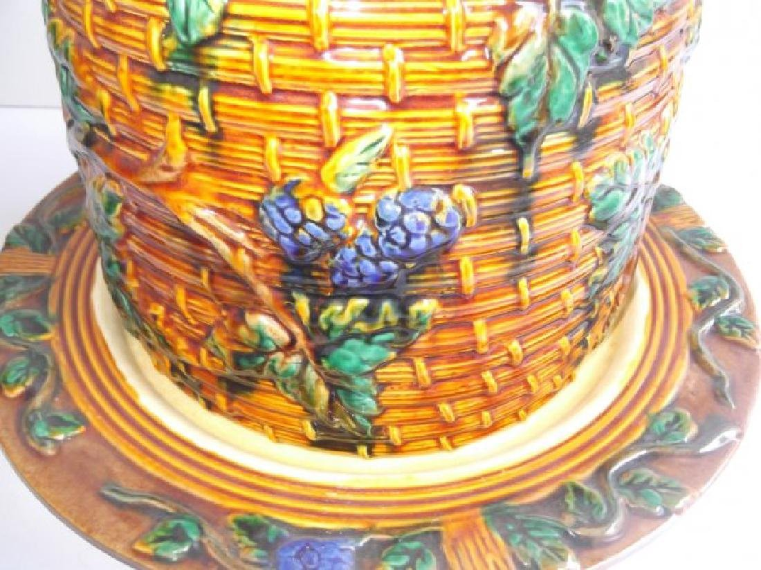 Contemporary Minton covered cake plate - 4