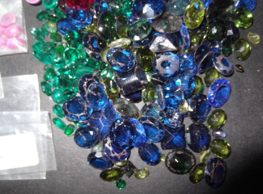 Large collection of polished stones - 4