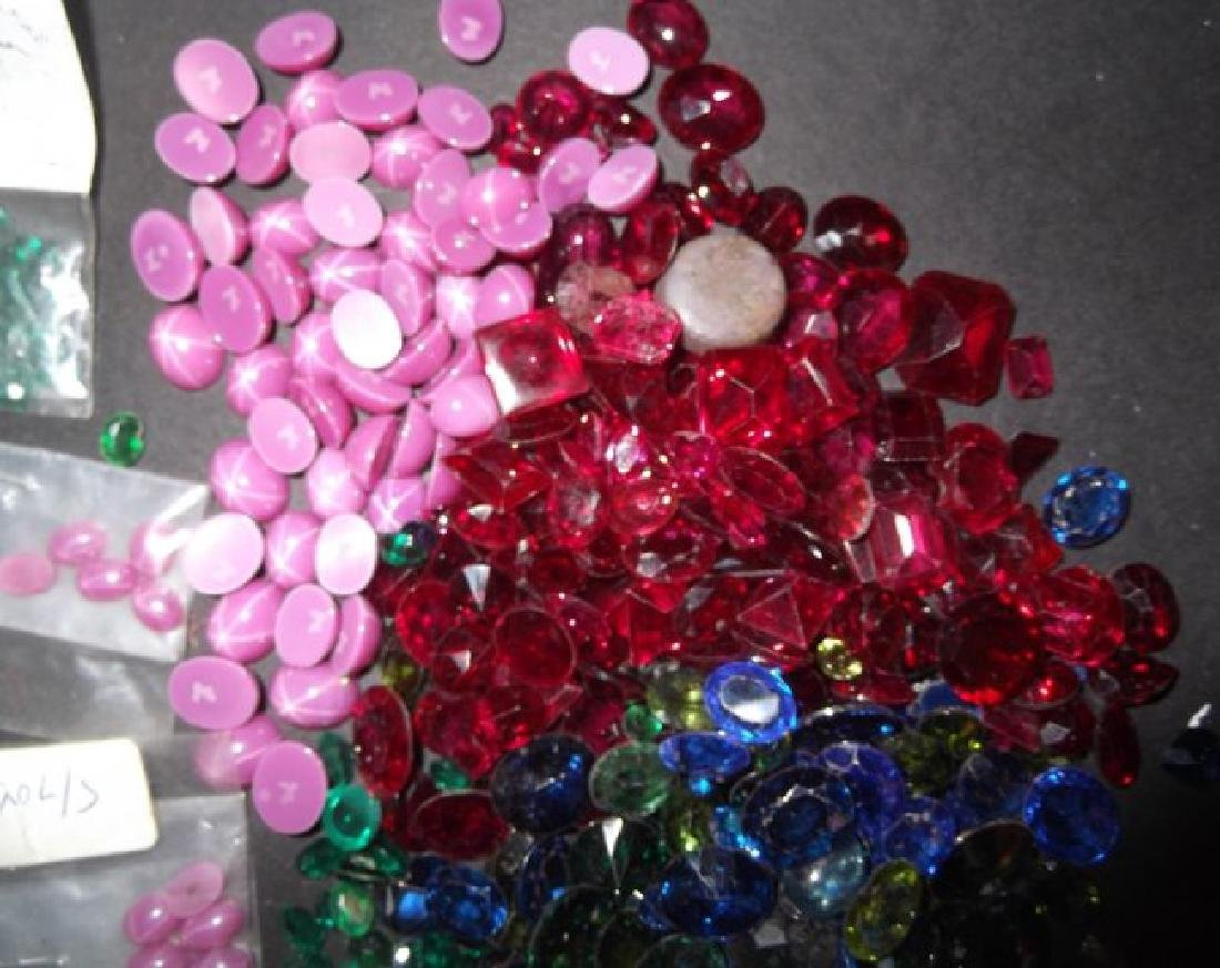 Large collection of polished stones - 5