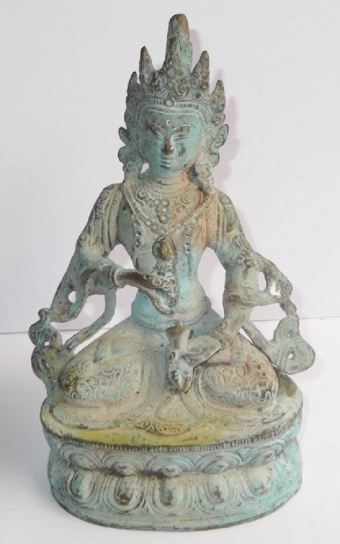 Bronze Indian deity statue
