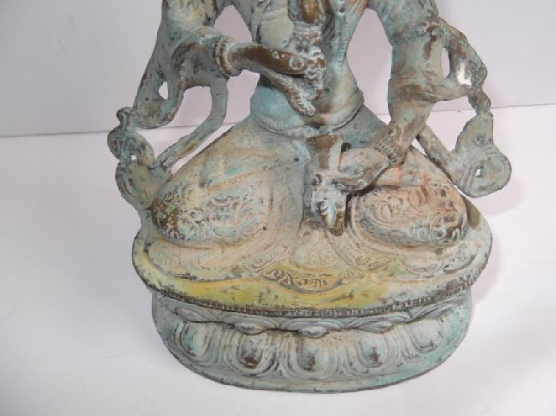 Bronze Indian deity statue - 5