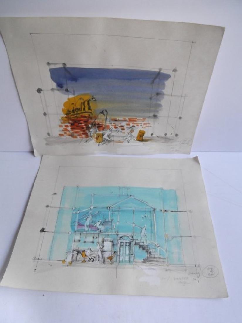 10 original illustrations/drawings - 5