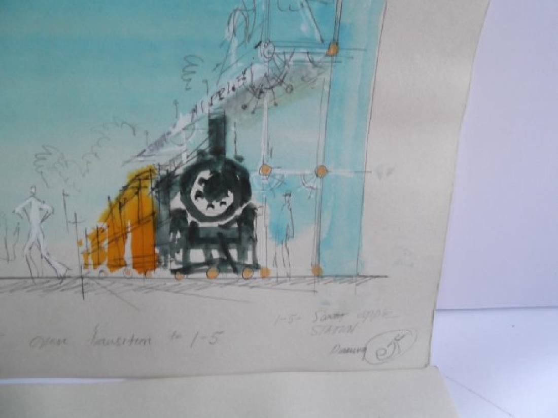 10 original illustrations/drawings - 6