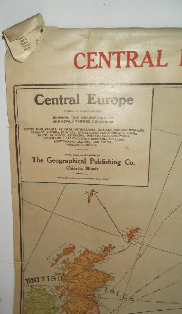 1906 wall hanging maps - 2