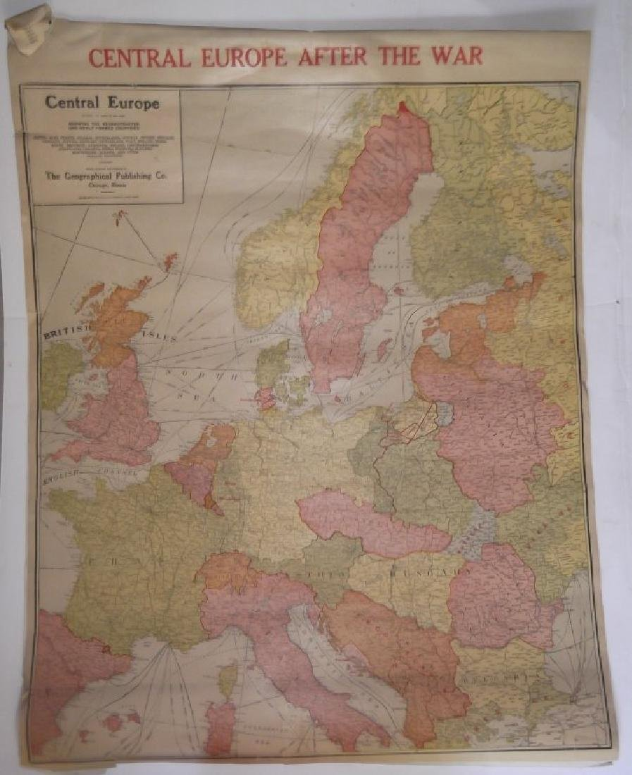 1906 wall hanging maps - 3