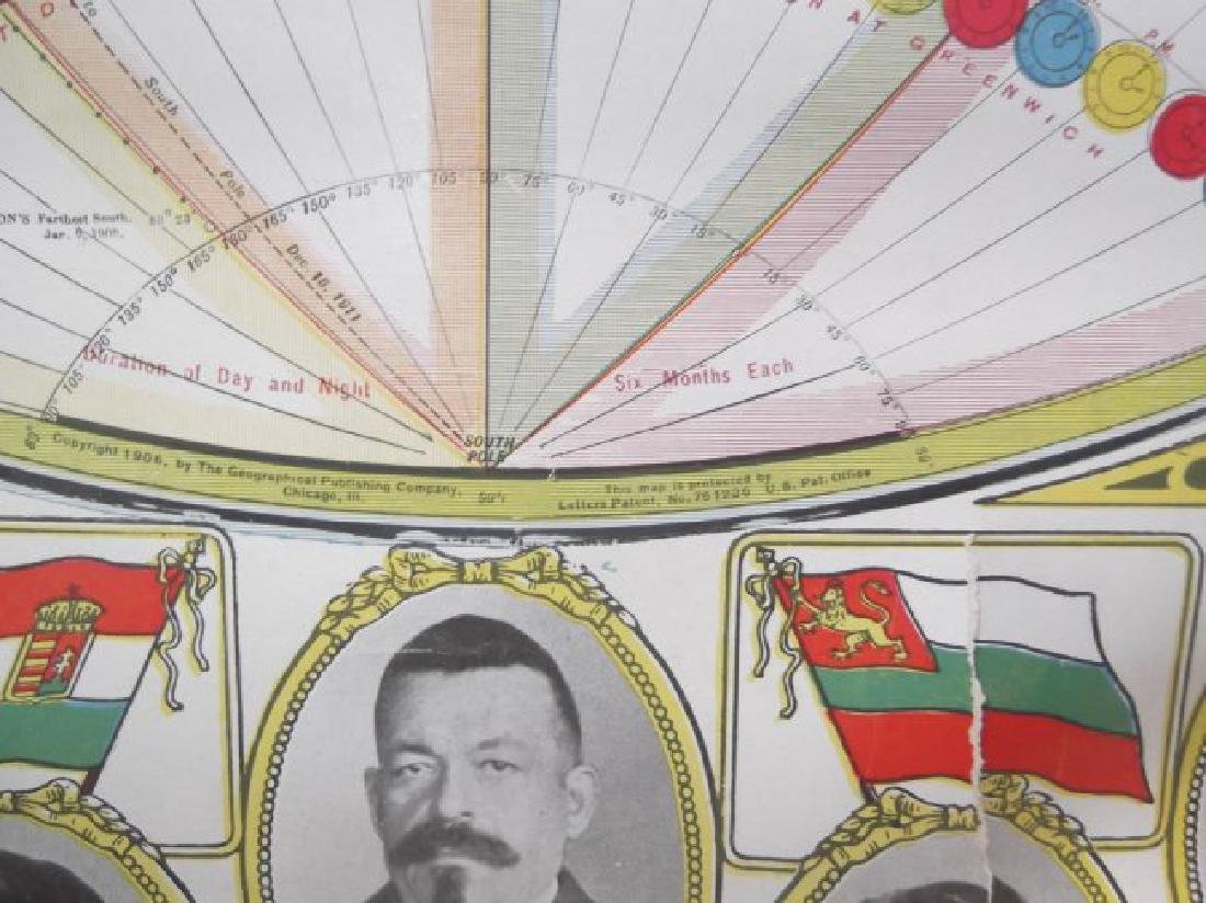 1906 wall hanging maps - 4