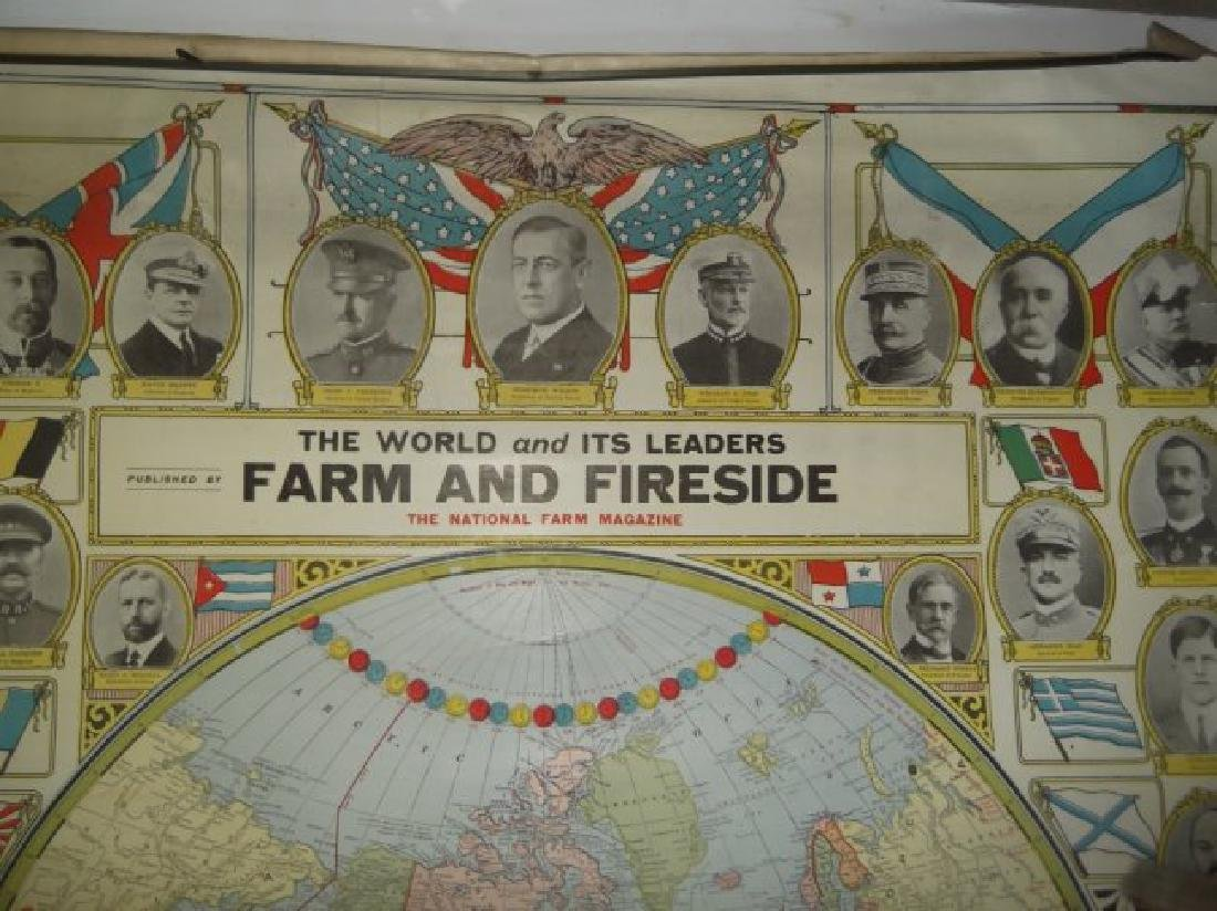 1906 wall hanging maps - 5