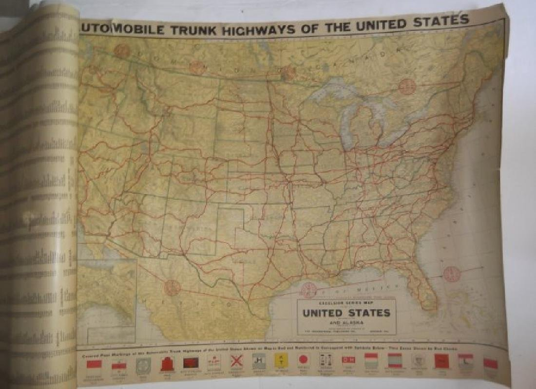 1906 wall hanging maps - 9