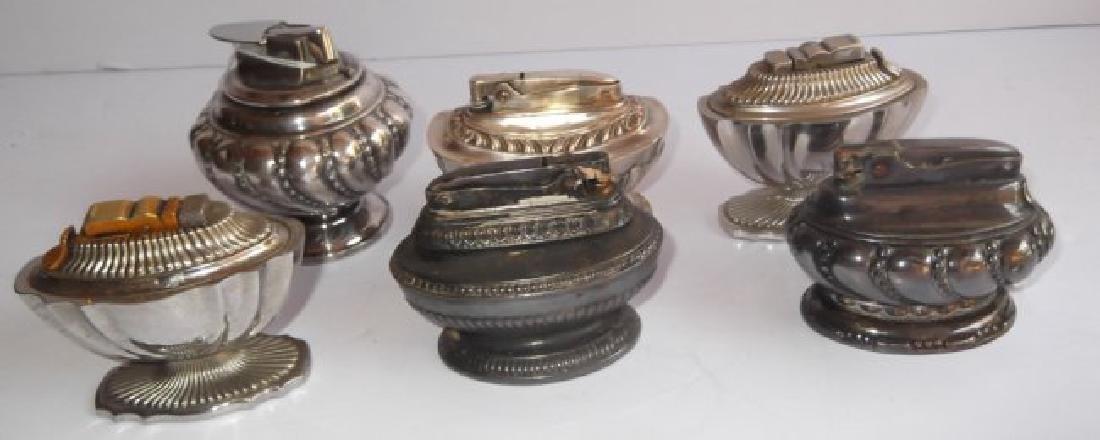 6 vintage lighters