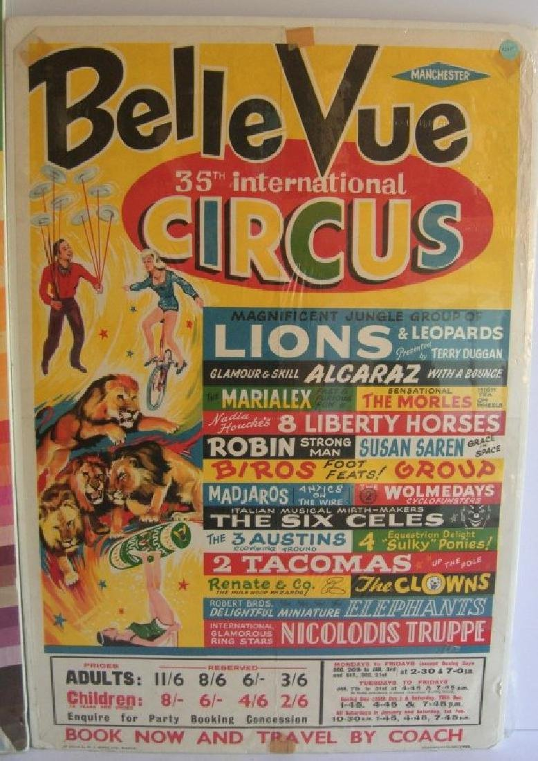 2 circus posters - 2