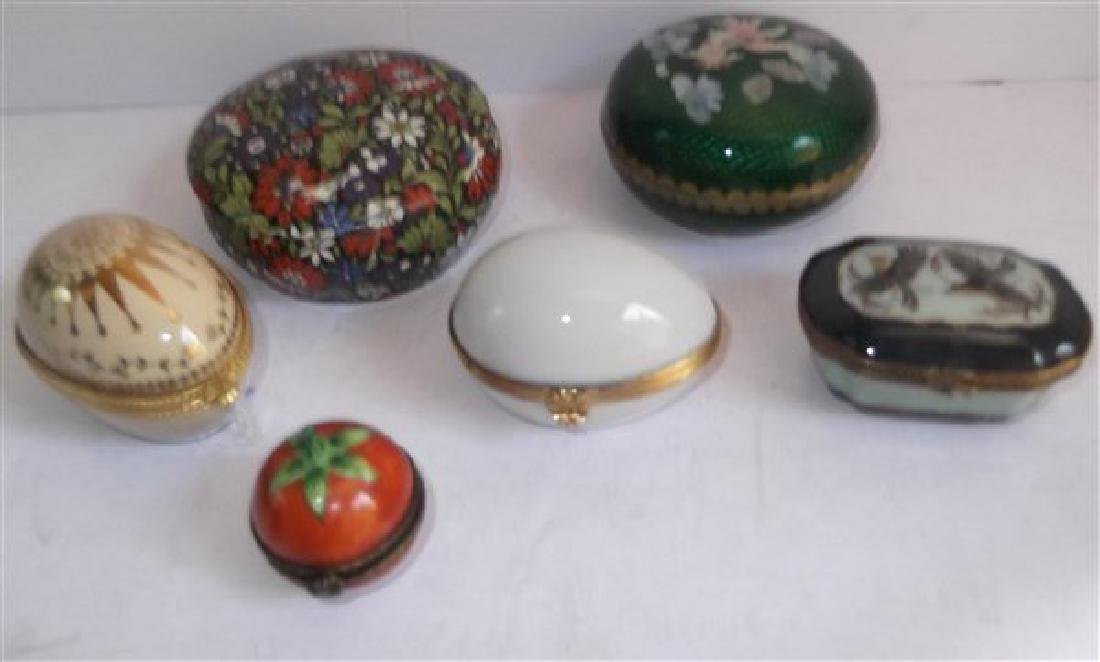 Collection of 16 trinket boxes - 5