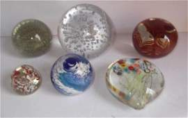 6 paper weights