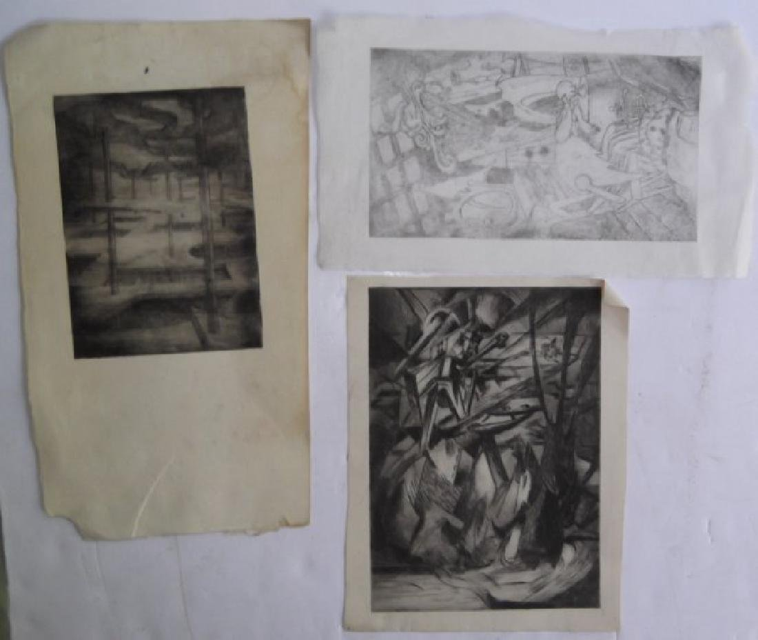 Collection of 21 pieces of artwork - 2