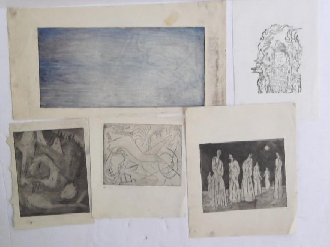 Collection of 21 pieces of artwork - 3