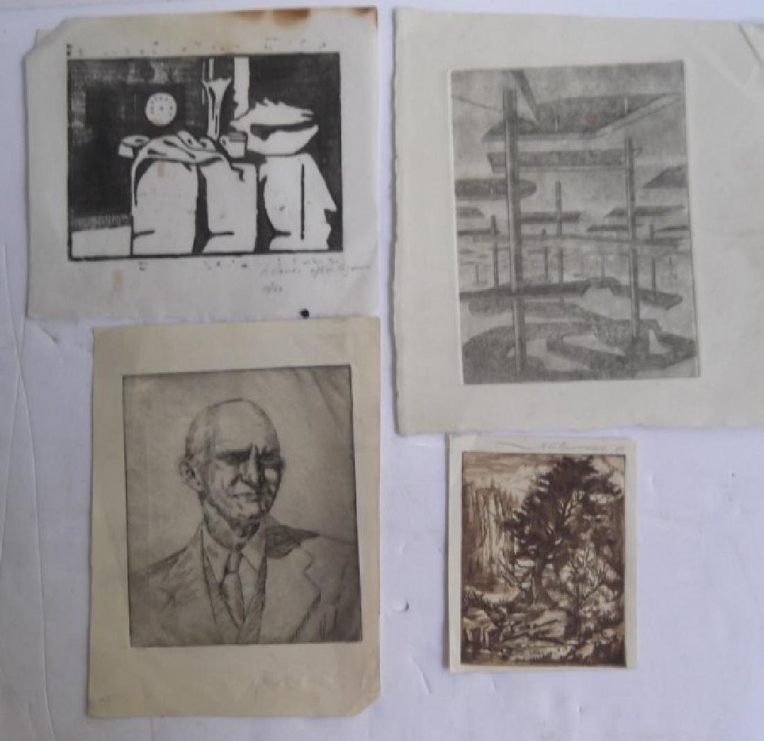 Collection of 21 pieces of artwork - 7